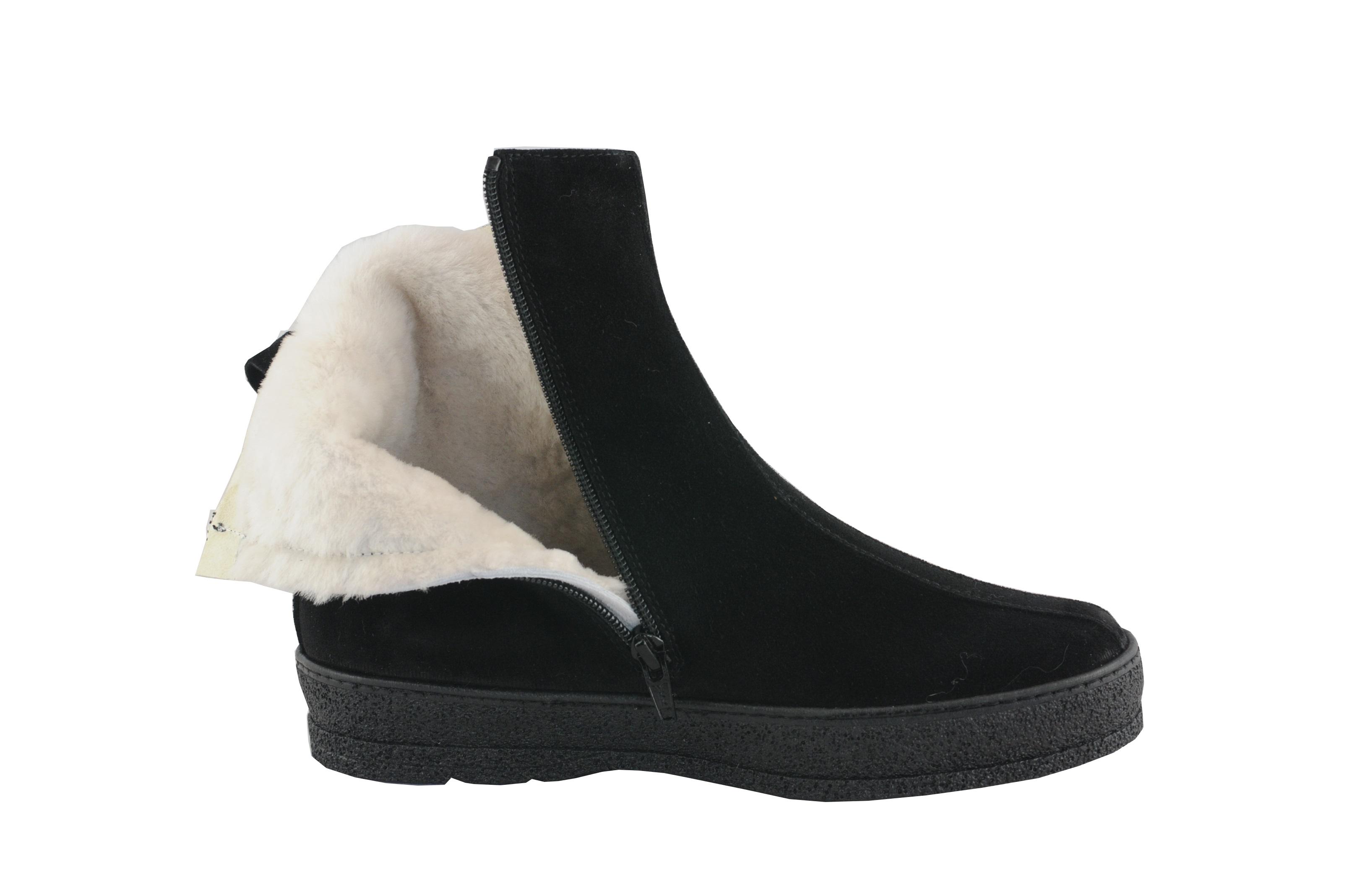 Schwarz Sarnac Stiefel Ii Damen Schuh Ober Ammann 29EIDH